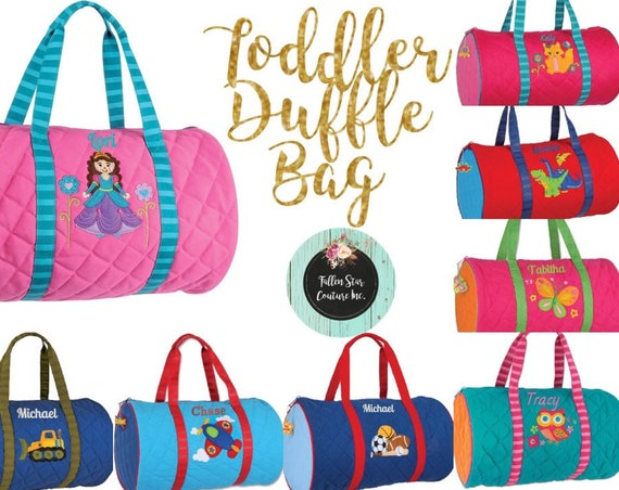 Toddler Duffle Bag , Preschool Duffle Bag , Kids Duffle bag , Kids Duffel Bag, Going To Grandma's , Kids Travel Bag , Toddler Luggage