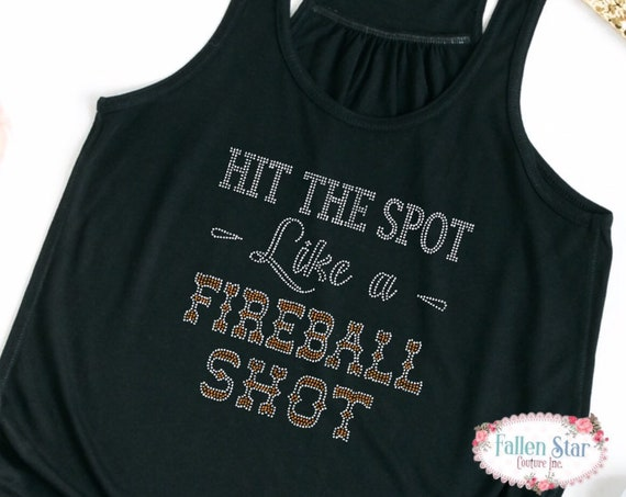 Fireball Shirt , Hit the spot like a fireball shot, country Concert Tee , Whiskey Shirt , ladies country Shirt