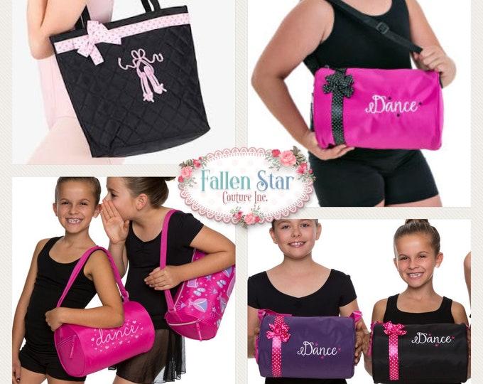 Dance Bag , Ballet Bag, Dance Class Bag,  Ballet Slipper Bag , Granddaughter Gits, Toddler Gift, Little Girl Gift