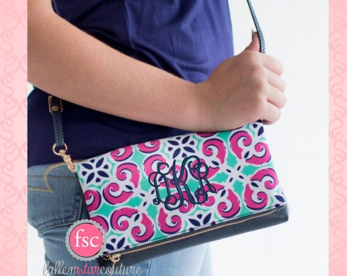 Clearance Monogrammed  crossbody , mia tile purse , personalized purse , sorority purse , summer crossbody bag , teen pocketbook