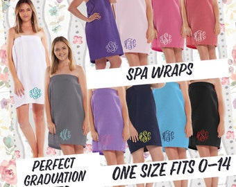 Spa Wrap Towel Wrap Bath Wrap Personalized Wrap College Graduation  Graduation Gift For Her Shower Wrap Bridesmaid Gift Getting Ready abfb5ba7c