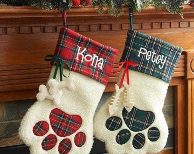 Pet Stocking|Dog Stocking |Cat Stocking |Pet Christmas stocking|Fur Baby Stocking|Pet Stocking for Cat|Pet Stocking for Dog