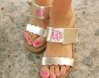 b387826988c2c Gold Wedge Sandals