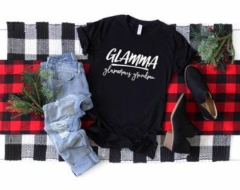 Glamma Shirt , Grandma Gift , Grammy Gift, Mimi Shirt , Young Grandma Gifts, Gifts For Grandma , Funny Grandma T Shirt