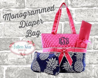 b91a347b4b23 Navy pineapple tote