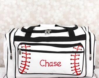 Kids baseball duffel bag, baseball bag, boys baseball duffle bag , baseball weekender, kids luggage, boys overnight bag
