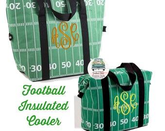 Football Beer Cooler, Insulated Cooler , Football Lover Gifts, Football Mom Gift, Beach Cooler, Mens Beer Cooler , Mens Gifts ,Gifts For Men