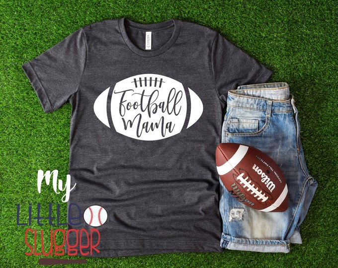 Football Mama , Football Mom Shirt, Football Shirt, Mom Shirts, Game Day Shirt , Sunday Funday , Flag Football