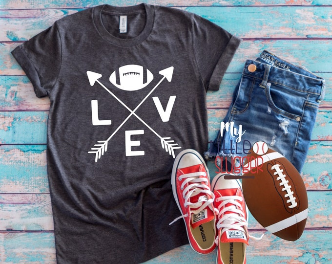Football arrow, football mom hoodie, football tank, football mom shirt, football mom sweatshirt, funny mom Tee