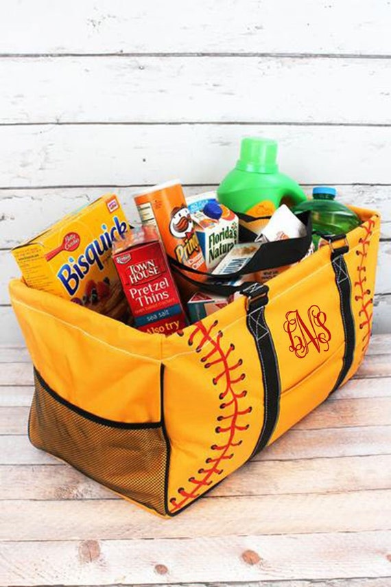 Softball Tote, softball Mom Bag, softball Mom Tote ,softball  Carry All , Baseball Mom Gift , Baseball Mom Bag , Baseball Bag