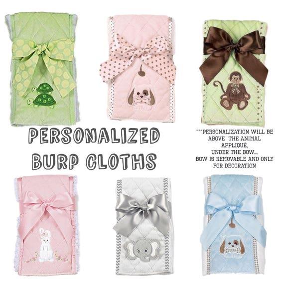 Personalized Baby burp cloth , baby burp cloth , monogrammed burp cloth  , newborn gifts , baby boy gift , baby girl gift