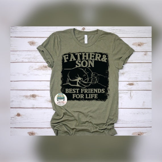 Father and Son Shirt, Dad  and Son Tee Shirt, Fathers Day Gifts, Gifts For Him, New Dad Gift, Dad Shirt