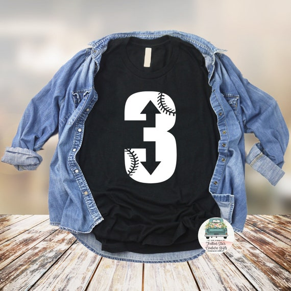 3 Up 3 Down, Baseball Mom Shirts, Baseball Tee, Mom Shirt, Baseball Mom V Neck, Cooperstown, Little League , Travel Baseball
