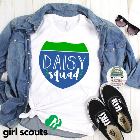 Daisy Girl Scout Shirt, Troop Leader Shirt, Girl Scouts Tee Shirt, Daisys Shirt, Brownies Shirt, Juniors Shirt, Girl Scout Cookies