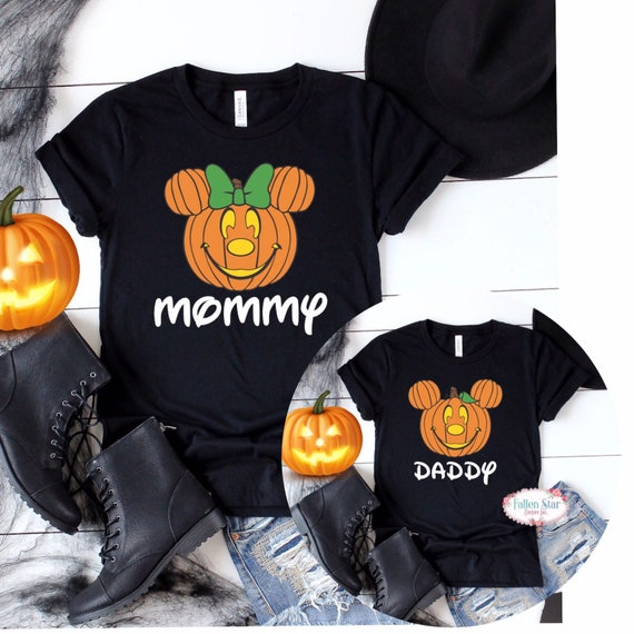 Family Disney Halloween Shirts, Halloween Disney Trip, Matching Family Disney Shirts , Trick or Treat Main Street