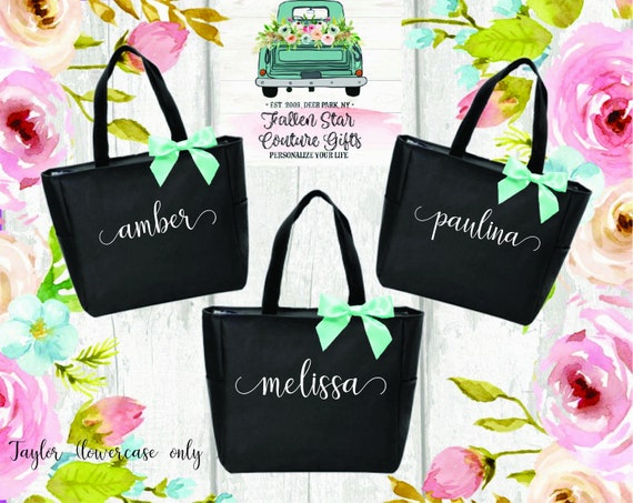 Bridesmaid Gift Tote, Maid of Honor Gift, Personalized Bridesmaid Bags, Bridesmaid Gifts, Bridesmaid Tote Bag , Gifts For Bridal Party