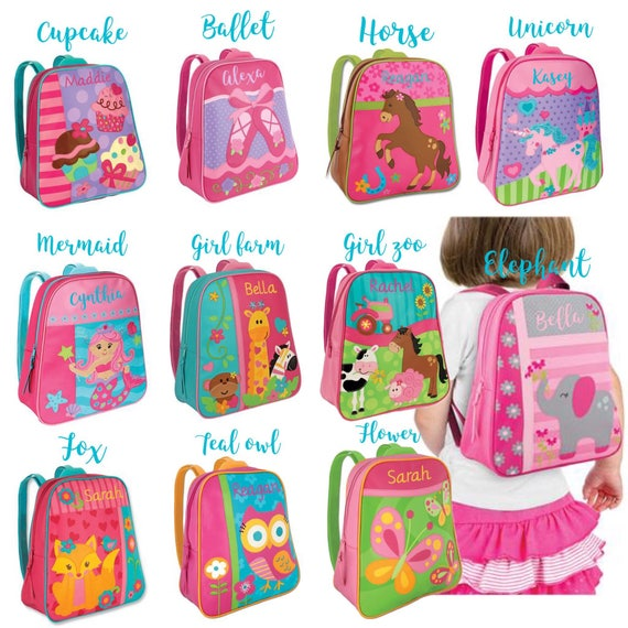 Girls Backpack, Toddler Backpack , Preschool Backpack , Girls Backpack , GoGo Backpack , Stephen Jospeh Backpack