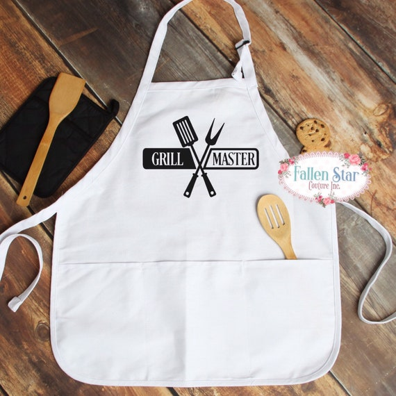 Father's Day aprons, grill master, gifts for dad, Father's Day gift, barbecue apron, king of the grill, dad gifts, grandpa gifts