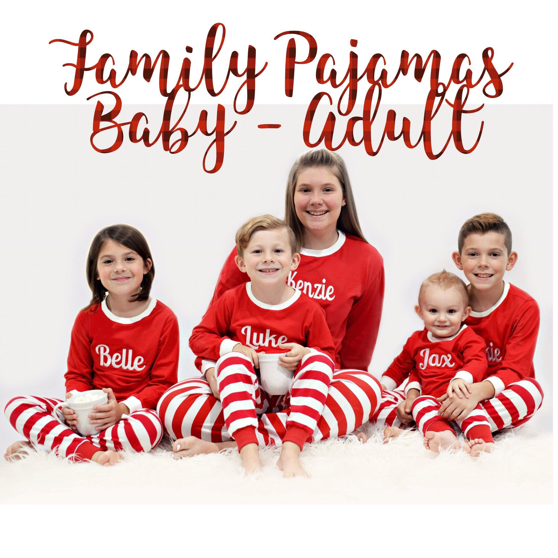 family christmas pajamas matching family christmas pajamas toddler christmas pajamas adult christmas pjs
