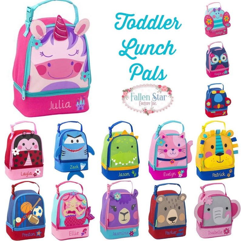 563f22e52930 Toddler lunch box / stephen joseph lunch box / personalized lunchbox /  preschool lunch box /kids lunch box / LUNCH PALS