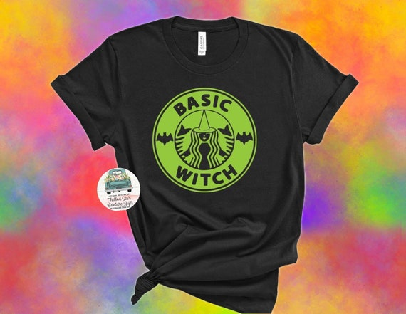 Basic Witch , Halloween Tee, Mom Halloween Tee, Ladies Halloween Shirt, Teen Halloween Tee Shirt