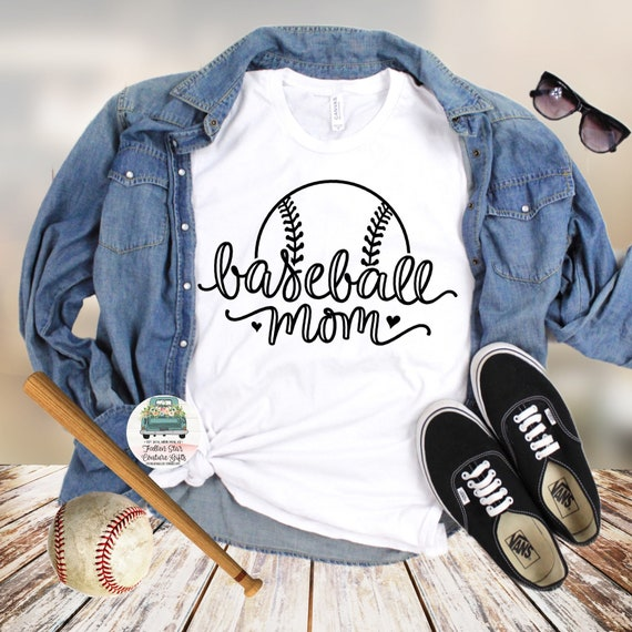 Baseball Mom Shirts, Baseball Mom ,Baseball Shirt, Baseball Shirts, Mom Shirt, Mom Shirt, Baseball Mom, Baseball Mom Script