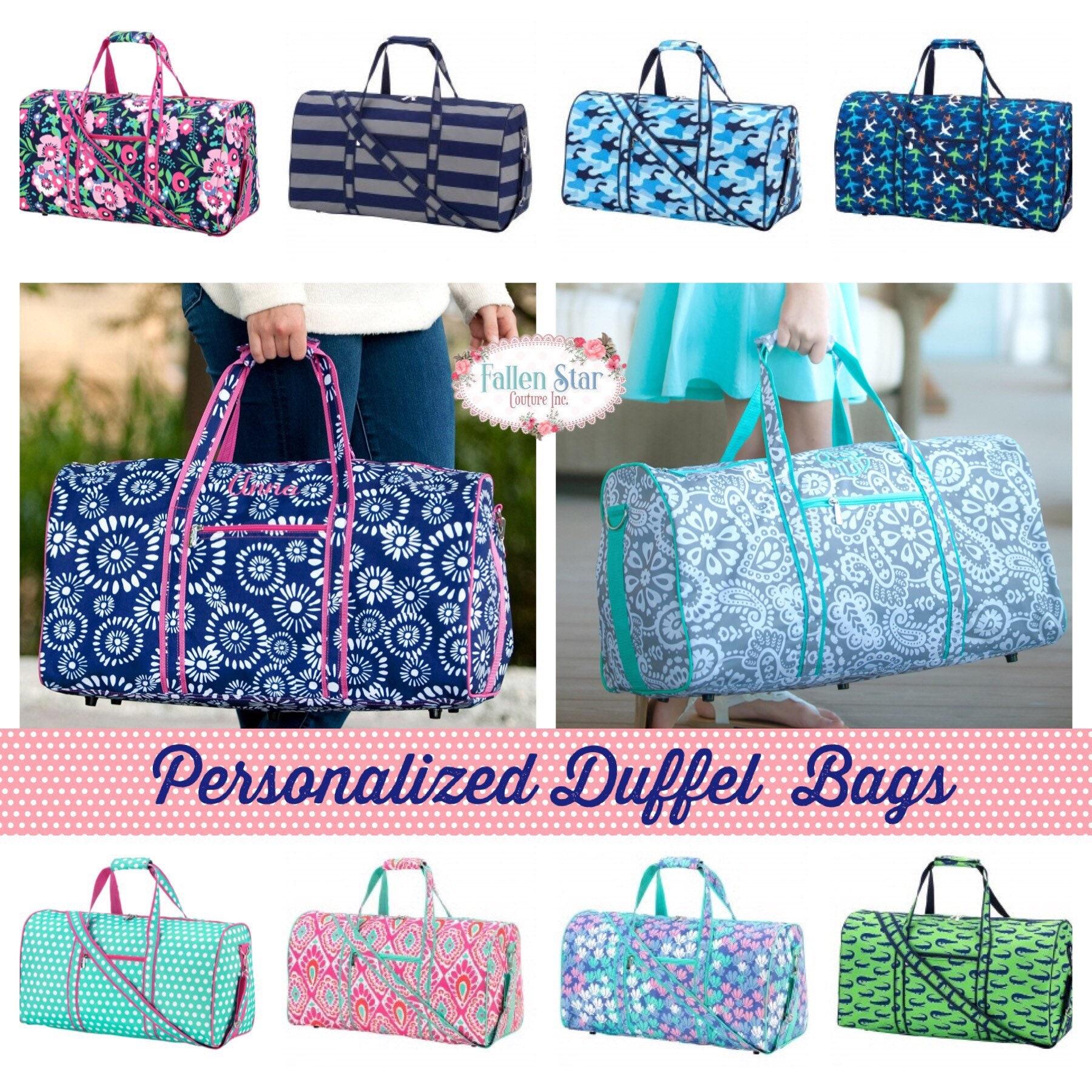 10d89d10f7 Kids Duffle Personalized Weekender Bag Duffle bag going