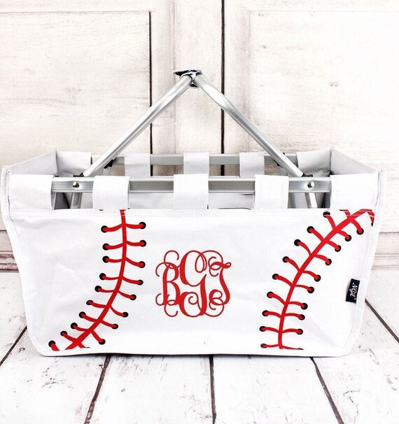 Personalized Baseball Market Tote  , Baseball  Mom Market Tote , Baseball Mom Carry All , Baseball Bag,  Baseball Mom Bag