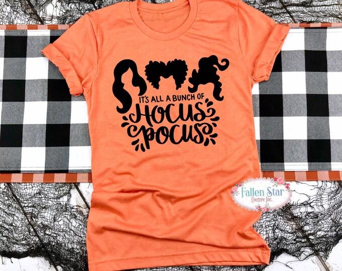 Hocus-pocus shirt, fall shirt women, Sanderson sisters, Halloween shirts, autumn shirts, hocus-pocus witch shirt, I smell children