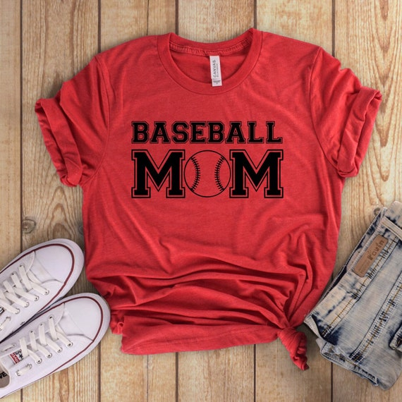 Baseball mom V-neck, baseball mom T-shirt, baseball mom tank top, baseball mom hoodie, baseball mom shirts
