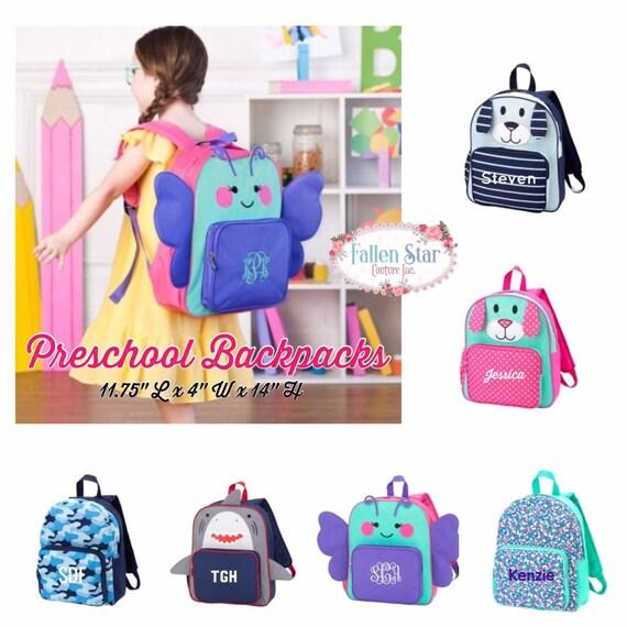 Preschool Backpack, Nursery School Backpack, Daycare Backpack, Small Backpack, Toddler Backpack, Camp Backpack, Baby Backpack