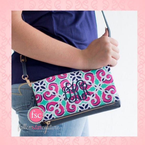 Monogrammed crossbody , mia tile purse , personalized purse , sorority purse , summer crossbody bag , teen pocketbook , crossbody purse