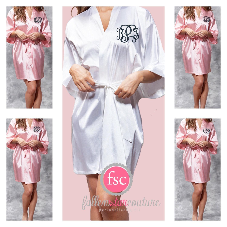 e1180995ea Monogrammed Bridesmaid Robes