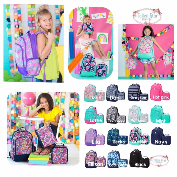 Girls backpack, girls lunchboxes, girls backpack and lunch box, back to school, full-size backpack, boys lunchbox , boys backpack ,