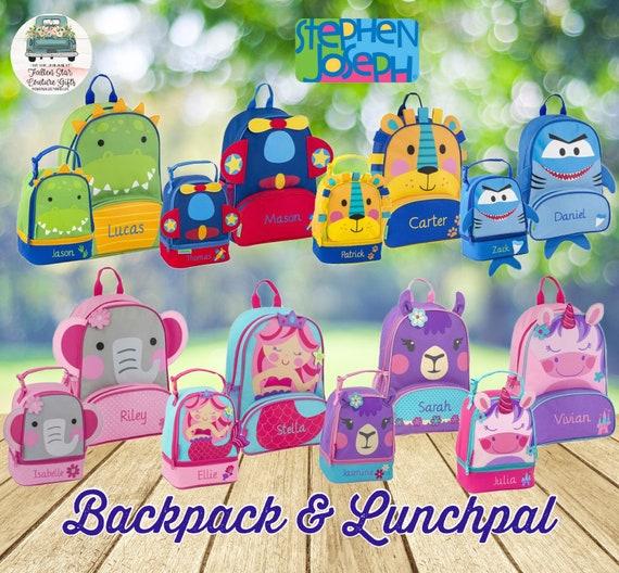 Toddler Backpack lunchbox Preschool Backpack Personalized Toddler Backpack Stephen Joseph Unicorn Backpack Diaper Bag