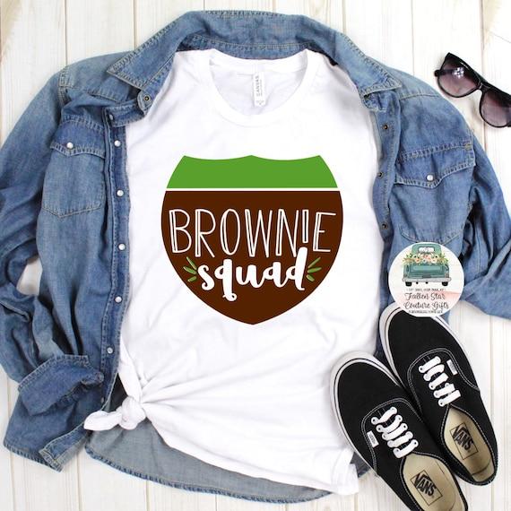 Girl Scout Shirt, Troop Leader Shirt, Girl Scouts Tee Shirt, Daisys Shirt, Brownies Shirt, Juniors Shirt, Girl Scout Cookies , Brownie Squad