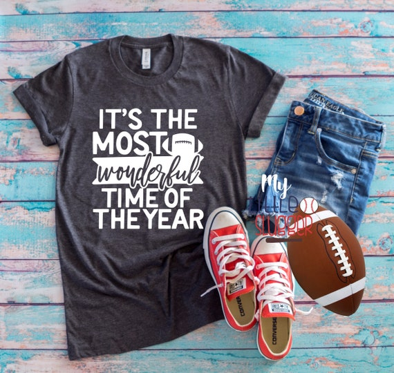 It's the most wonderful time of the year football mom shirt, football mom hoodie, football T-shirt, mom shirt
