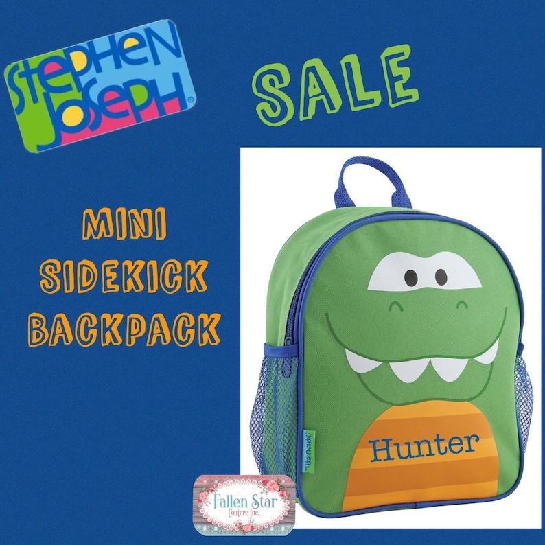 5d0dc76bb97 CLEARANCE Alligator toddler backpack toy bag kids backpack