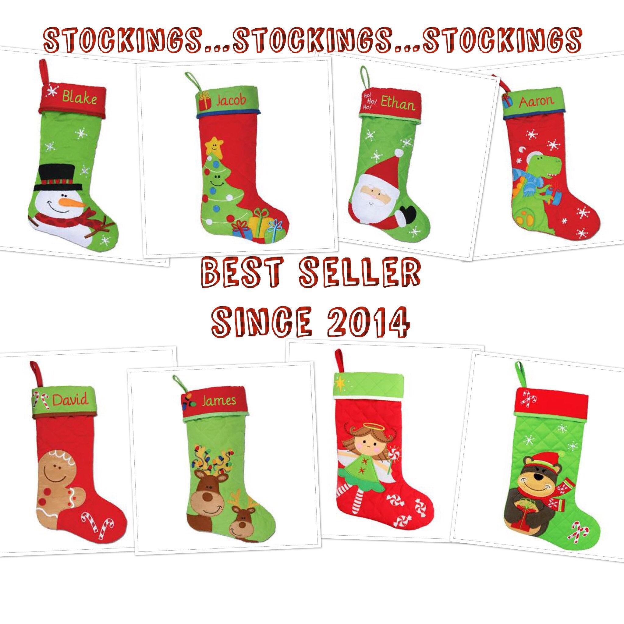 Personalized christmas stocking , STEPHEN JOSEPH , christmas tree ...