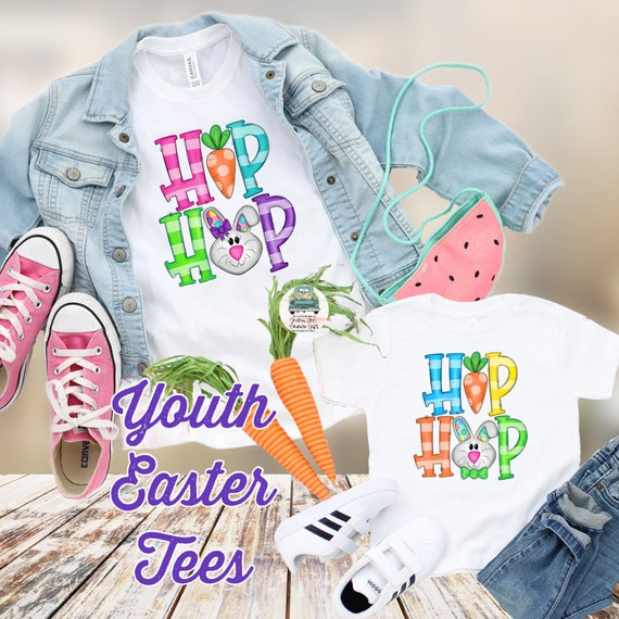 Easter Shirt, Kids Easter Shirt , Girls Easter Shirt, Boys Easter Shirt , Bunny  Love Shirt, Kids Easter Tees,  Bunny Shirt, Hip Hop  Shirt