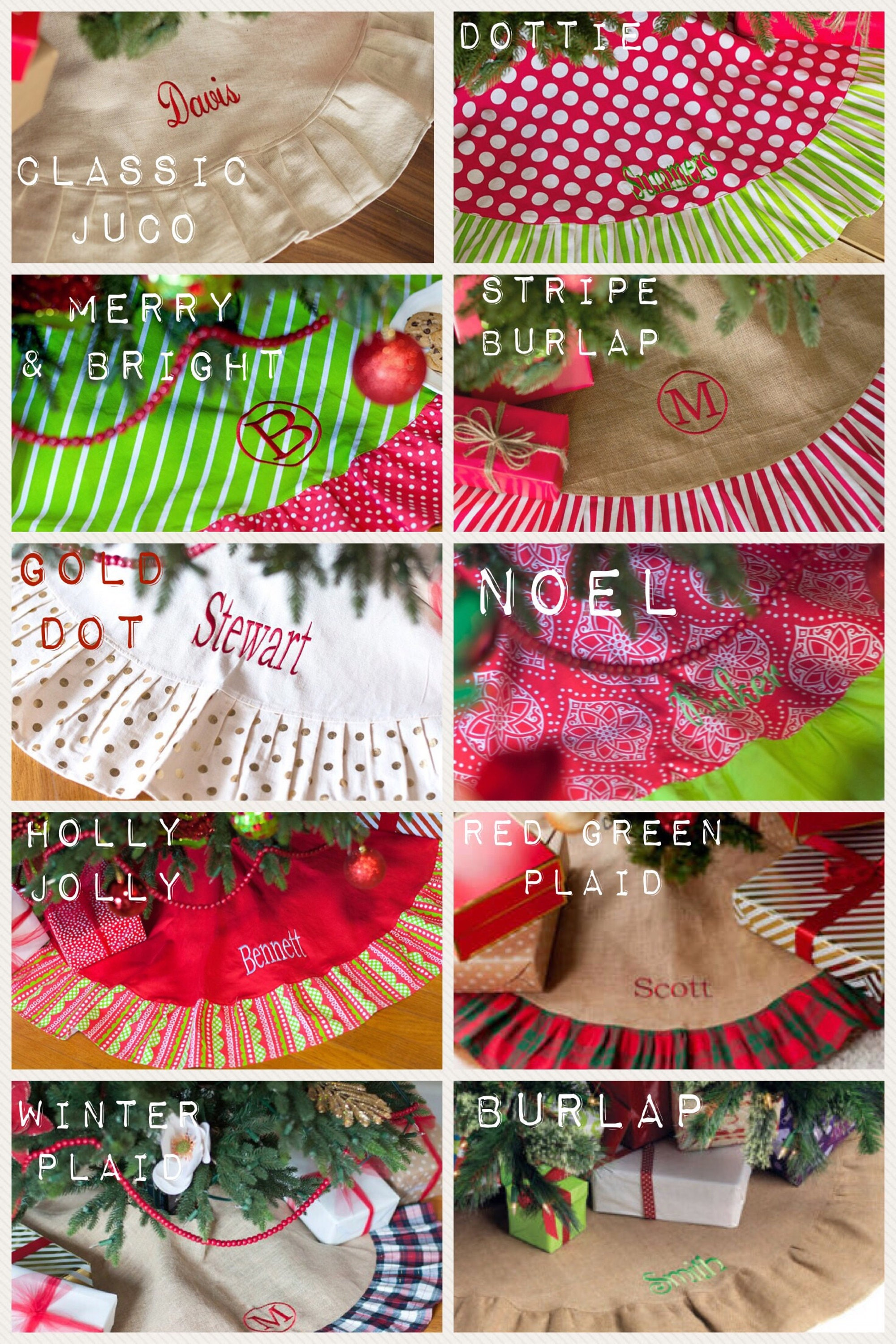 personalized christmas tree skirt monogrammed christmas tree skirt tree skirt personalized large tree skirt ruffle tree skirt