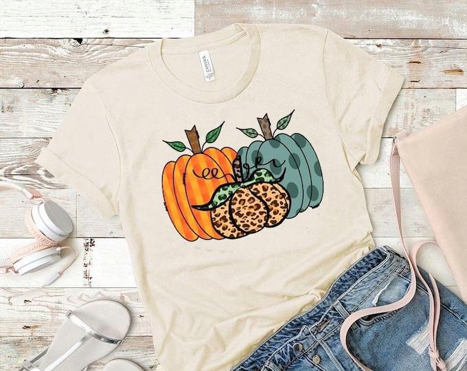Pumpkin shirt, pumpkin picking shirt, Halloween shirt, fall T-shirt, autumn shirt, pumpkin T shirt, rustic pumpkin