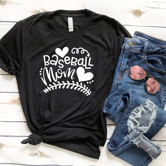 Baseball mom tshirt, baseball mom hoodie, baseball mom tank top, baseball Shirt, baseball t shirt , gifts for mom