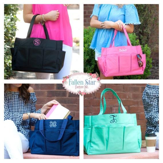 Crochet Bag, Knitters Bag, Craft Tote , Gift Wrap Storage, Multi Purpose Tote, Gardening Tote , Yarn Bag, Project Bag , Knitting Project Bag