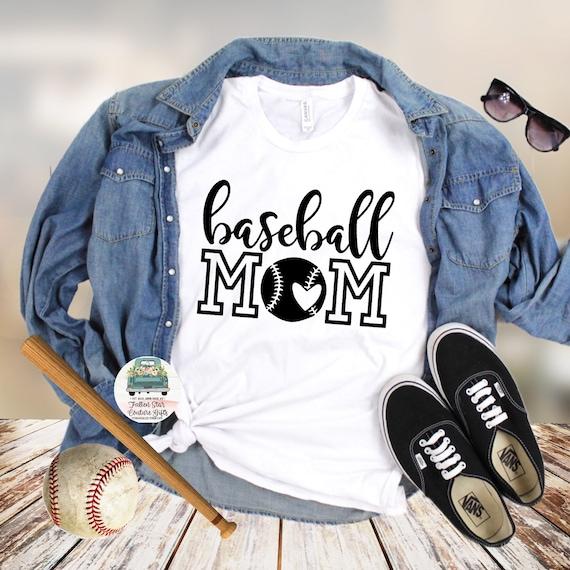Baseball Mom Shirts, Baseball Mom ,Baseball Shirt, Baseball Shirts, Mom Shirt, Mom Shirt, Baseball Mom ,Baseball Mom Heart