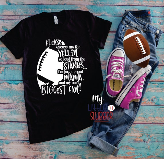 Yelling mom biggest fan, football mom hoodie, football tank, football mom shirt, football mom sweatshirt, funny football mom tee