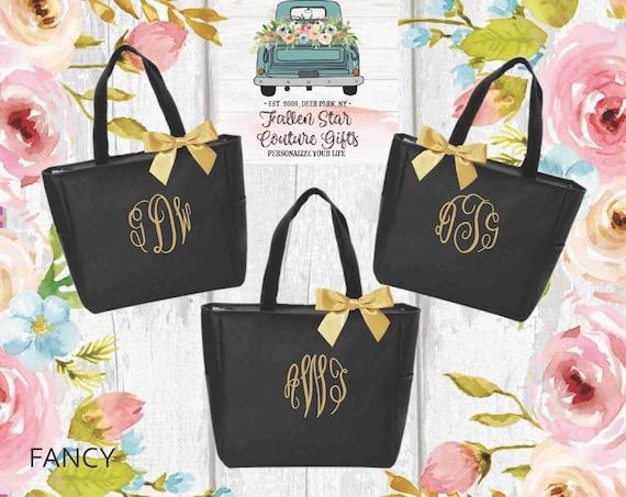 Monogrammed Tote Bag,  Bridesmaid Tote Bags,  Monogrammed Bridesmaid Totes,  Personalized Tote Bags.  Monogrammed Tote.  Bride Tote Bag