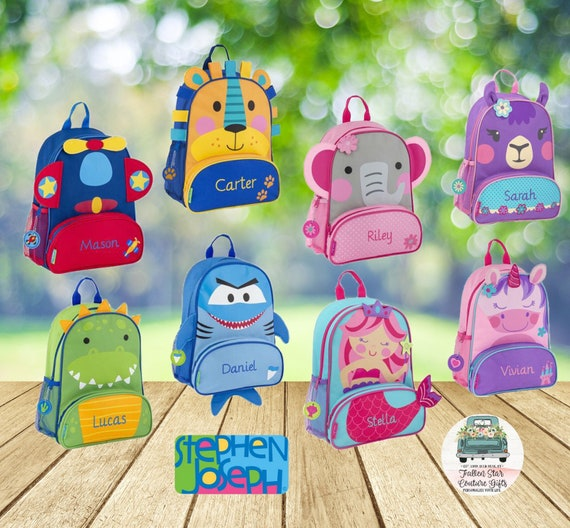 Preschool backpack / toddler backpack / stephen joseph backpack / personalized backpack / SIDEKICK