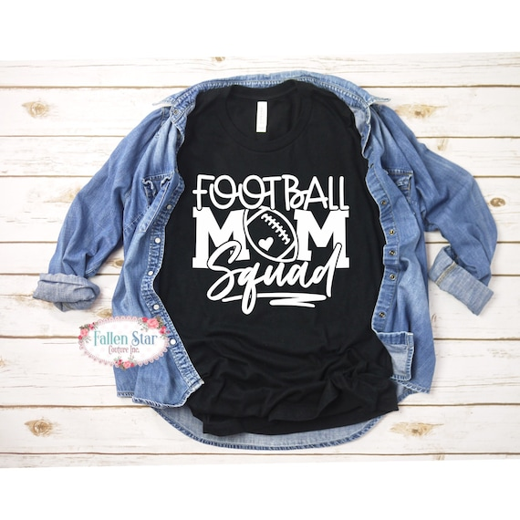 Football Mom Squad , Football Momma, Football Mama Shirt, Football Mom Hooide, Custom Team Shirt, Flag Football Mom, Football Mom Shirts