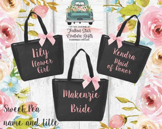 bridesmaid tote, bridesmaid gift,bridesmaid bag , bridesmaid thank you , bridesmaid gift bag , bridesmaid personalized gift, bridesmaid gift